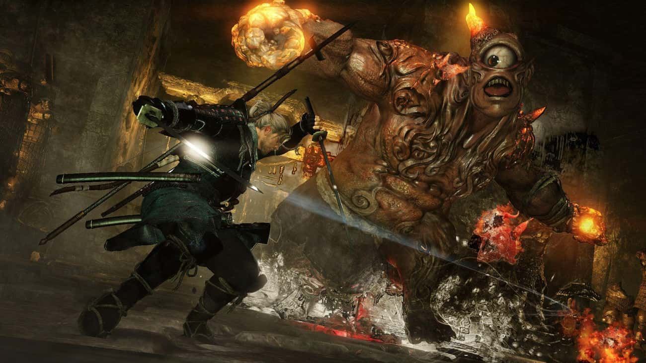 Nioh is listed (or ranked) 4 on the list 15 PS4 Games That Are So Hard They'll Make You Want To Chuck Your Controller