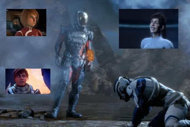Mass Effect: Andromeda is listed (or ranked) 3 on the list The Worst Video Games From The Most Acclaimed Franchises