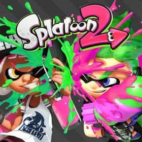 Splatoon 2 is listed (or ranked) 7 on the list The Most Popular Nintendo Switch Games Right Now