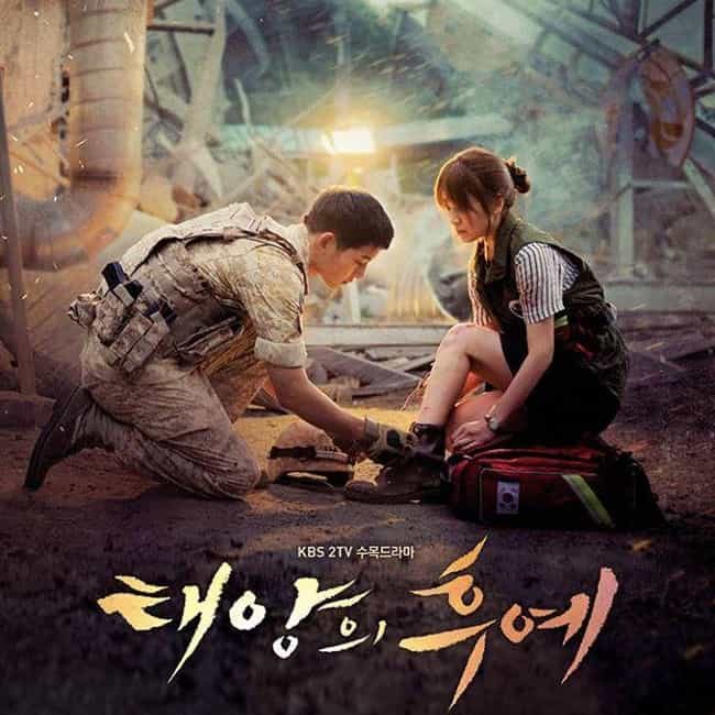 Descendants of the Sun ... is listed (or ranked) 2 on the list The Best Korean Dramas On Hulu Right Now