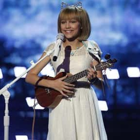 """Grace VanderWaal is listed (or ranked) 5 on the list The Best """"America's Got Talent"""" Acts"""