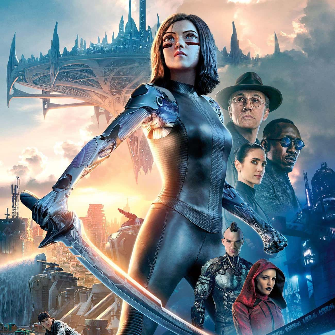 Alita: Battle Angel is listed (or ranked) 4 on the list The Best New Sci-Fi Movies of the Last Few Years