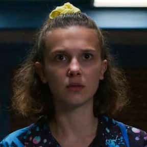 Eleven is listed (or ranked) 12 on the list The Best Female Characters on TV Right Now