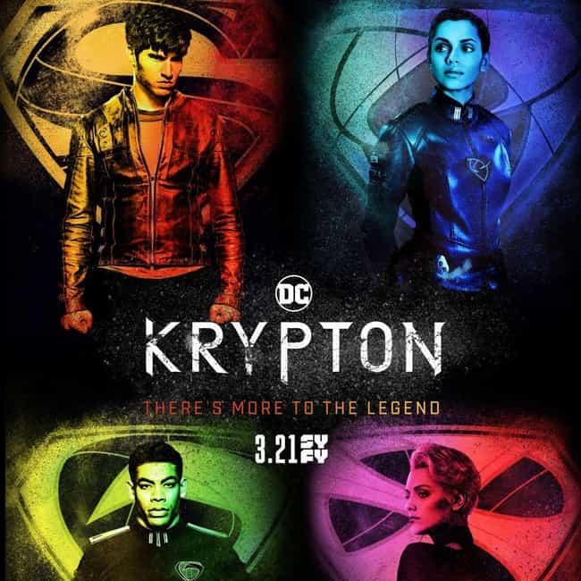 Krypton is listed (or ranked) 8 on the list What to Watch If You Love Red Sparrow