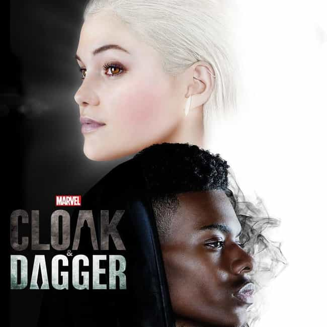 Cloak & Dagger is listed (or ranked) 2 on the list The Best Current Freeform Shows