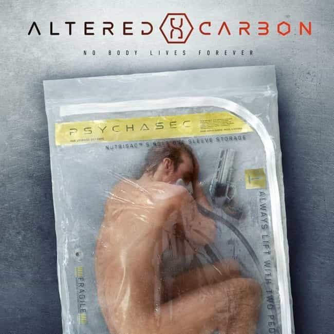 Altered Carbon is listed (or ranked) 4 on the list What to Watch If You Love 'The Man in the High Castle'