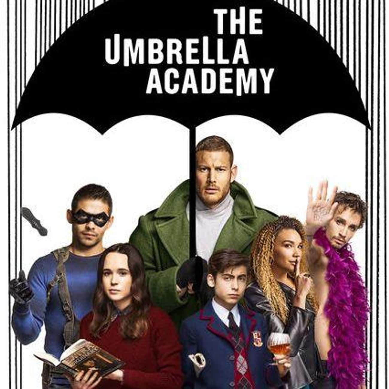 The Umbrella Academy is listed (or ranked) 4 on the list What To Watch If You Love 'Russian Doll'