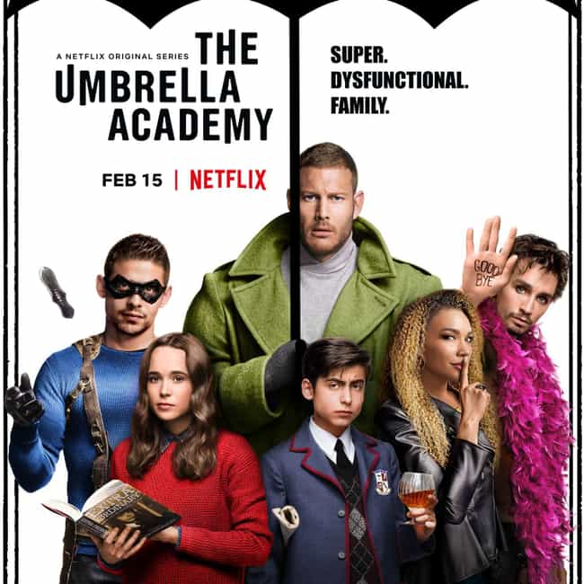 The Umbrella Academy is listed (or ranked) 2 on the list What To Watch If You Love 'Titans'