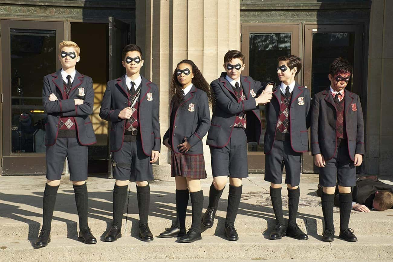 The Umbrella Academy is listed (or ranked) 3 on the list The Best Live-Action Comic Book Adaptations Of The Decade Not From Marvel Or DC, Ranked