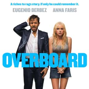 Overboard is listed (or ranked) 15 on the list The Greatest Comedy Movie Remakes