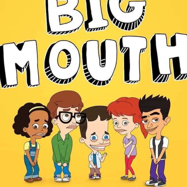 Big Mouth is listed (or ranked) 2 on the list The Best Adult Animated Shows On Netflix