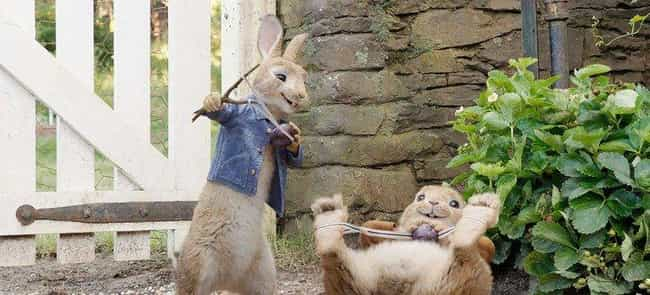 Peter Rabbit is listed (or ranked) 1 on the list Kids' Movies That Proved Surprisingly Controversial
