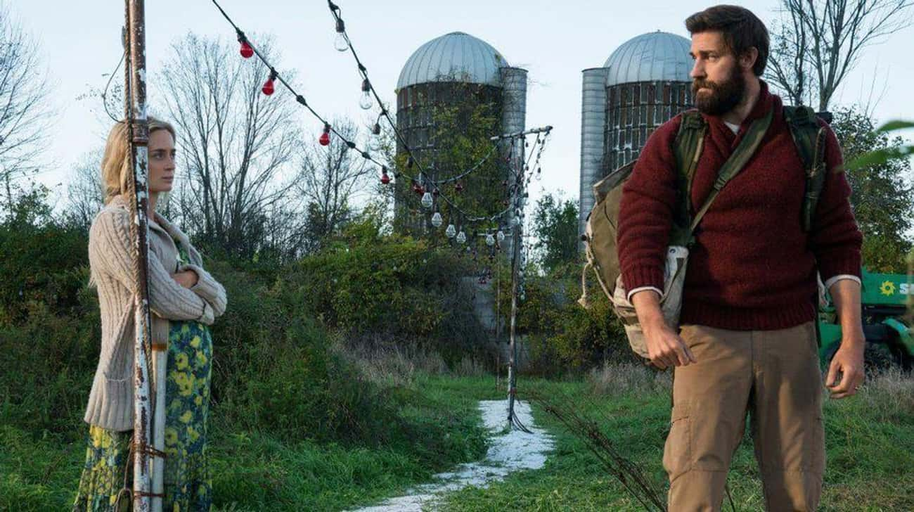 A Quiet Place is listed (or ranked) 1 on the list 21 Movies Where Real Family Members Play Fictional Families
