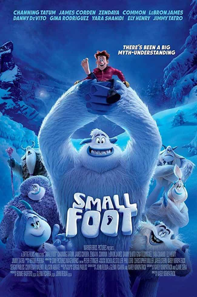Smallfoot is listed (or ranked) 4 on the list The Best Zendaya Movies