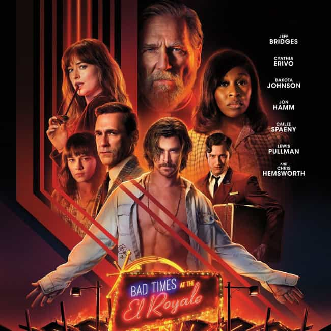 Bad Times at the El Royale is listed (or ranked) 4 on the list The Best Ensemble Casts of 2018