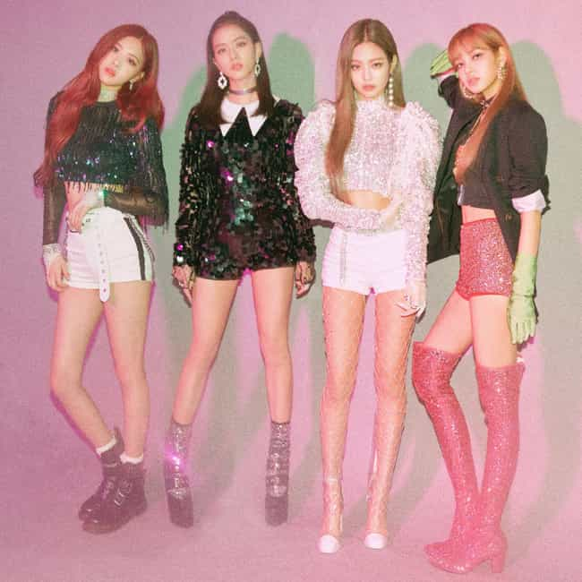 BLACKPINK is listed (or ranked) 1 on the list The Best YG Entertainment Groups Of All-Time