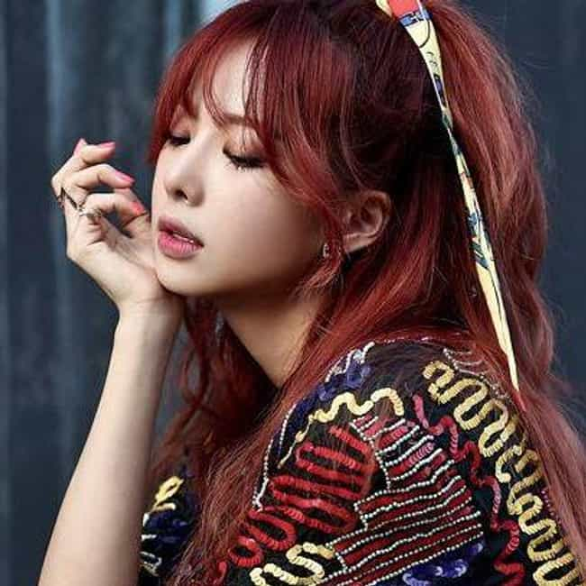Solji is listed (or ranked) 3 on the list The Best Female Leaders In K-pop Right Now