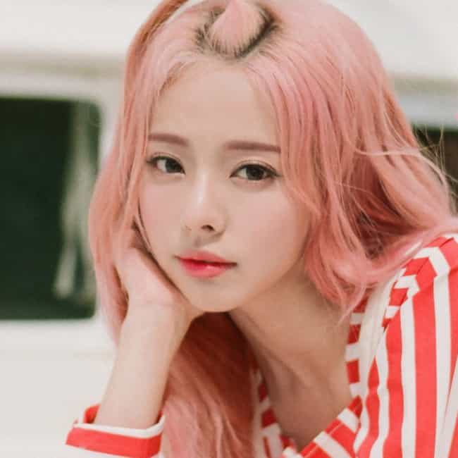 ViVi is listed (or ranked) 4 on the list The Best Female Visuals In K-pop Right Now