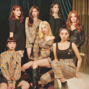 CLC is listed (or ranked) 17 on the list The Best K-pop Girl Groups Of All-Time
