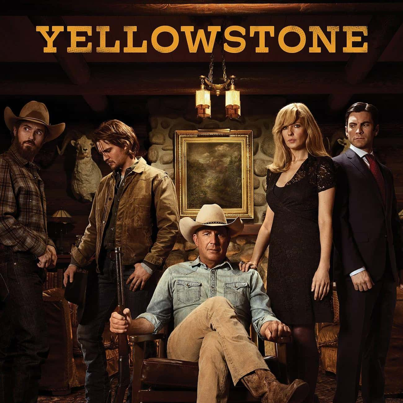 Yellowstone is listed (or ranked) 4 on the list What To Watch If You Love 'The Ranch'