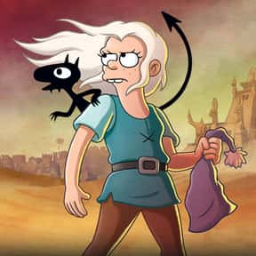 Disenchantment is listed (or ranked) 22 on the list The Best Current Animated Series