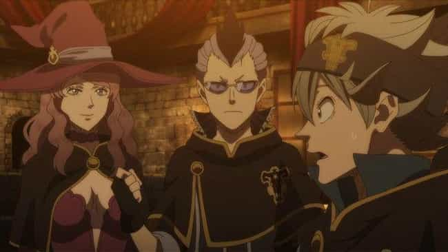Black Clover is listed (or ranked) 3 on the list The 20 Best Magic Anime You Can't Afford To Miss