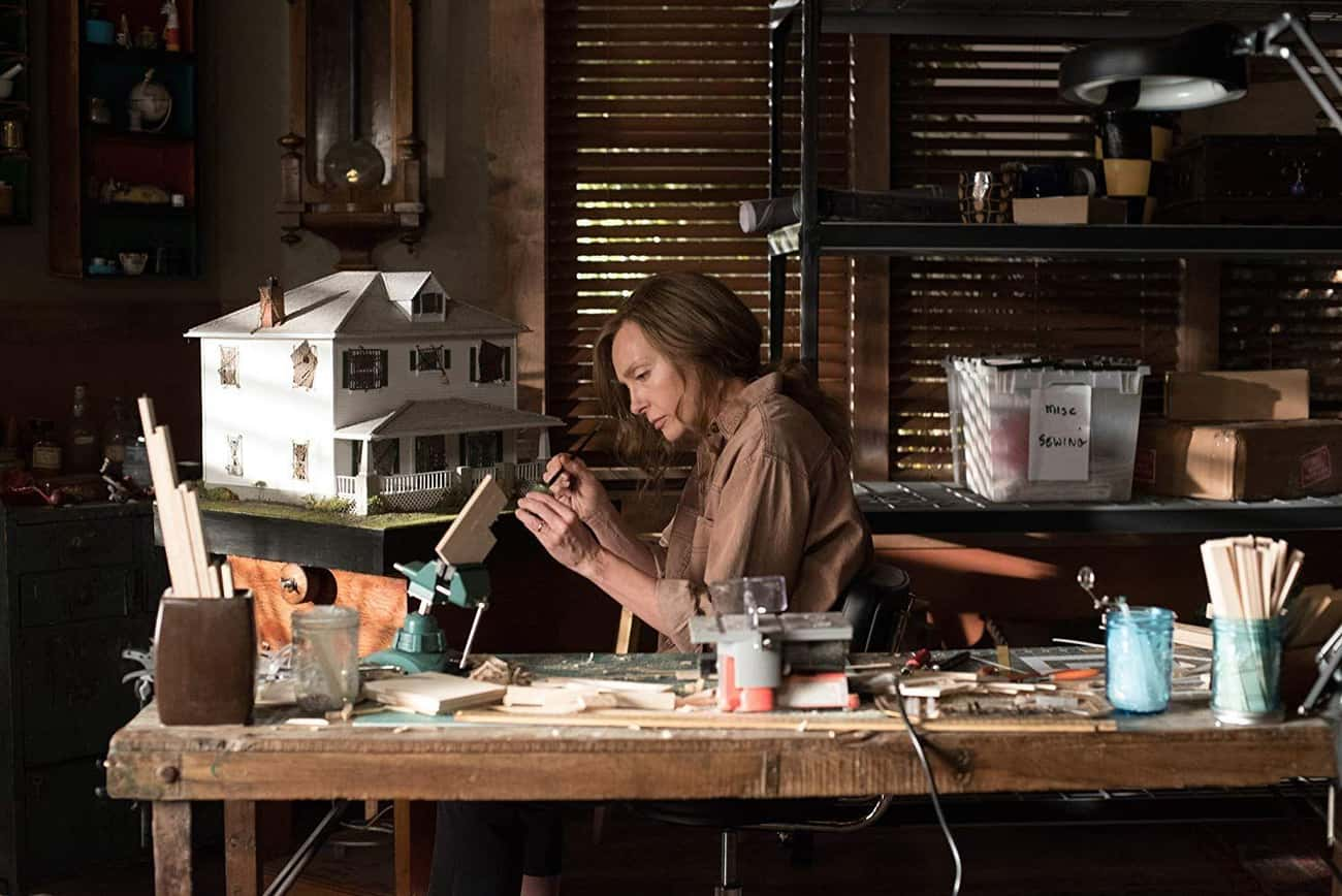 Hereditary is listed (or ranked) 4 on the list Horror Movies About Artists And The Art World