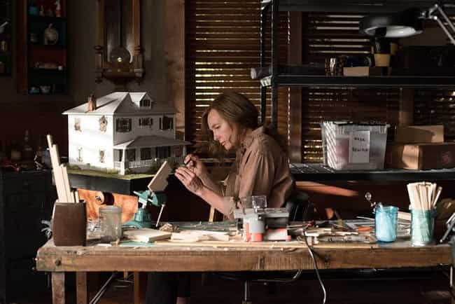 Hereditary is listed (or ranked) 2 on the list Horror Movies About Artists And The Art World