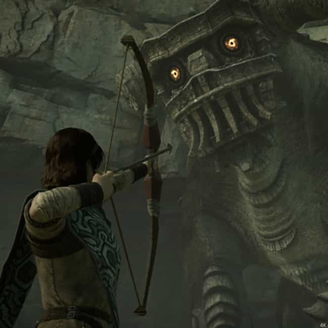 Shadow of the Colossus ... is listed (or ranked) 3 on the list The Best Remakes And Remasters For The PlayStation 4