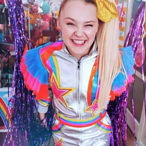 JoJo Siwa is listed (or ranked) 18 on the list Celebrities You're Sick Of In 2020