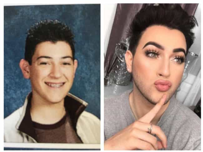 your favorite makeup artists before and after they got famous