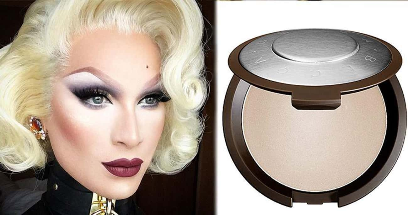 Miss Fame Wears Becca Shimmeri is listed (or ranked) 1 on the list Your Favorite Drag Queens' Go-To Makeup Products