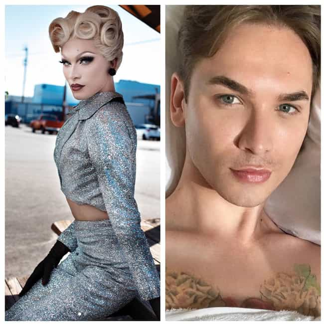 Miss Fame is listed (or ranked) 3 on the list RuPaul's Drag Race Stars With And Without Their Makeup