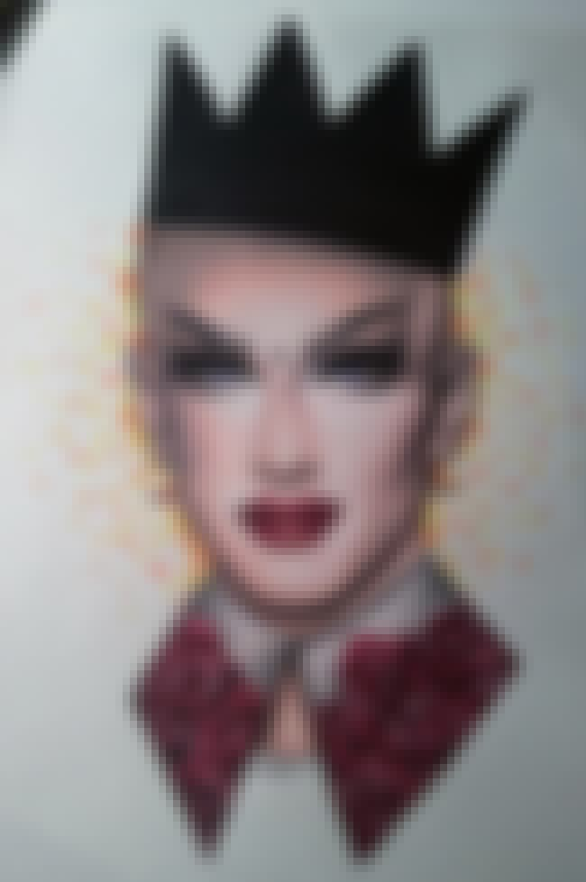Sasha Velour is listed (or ranked) 4 on the list Fabulous Fan Art For 'RuPaul's Drag Race'