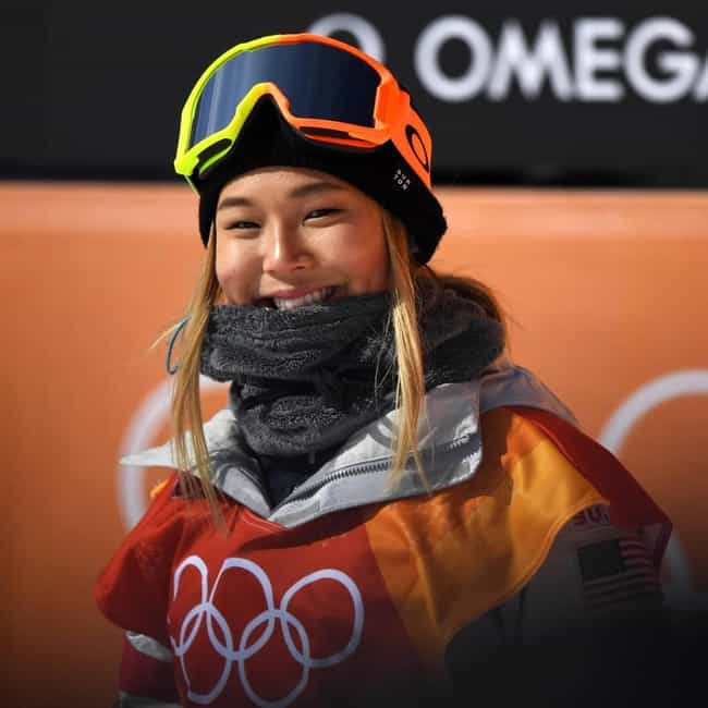 Chloe Kim is listed (or ranked) 3 on the list Famous Female Snowboarders