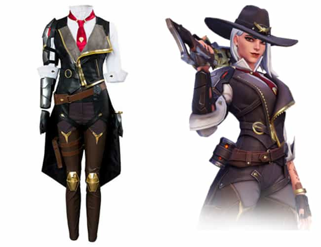 Overwatch is listed (or ranked) 3 on the list Cool Video Game Costumes That Look Just Like The Character