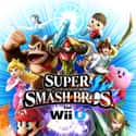 Super Smash Bros. for Wii U is listed (or ranked) 3 on the list The Most Popular Fighting Video Games Right Now