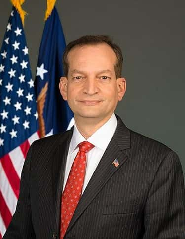 Alexander Acosta - Resigned is listed (or ranked) 65 on the list Everyone Who Has Been Fired Or Resigned From The Trump Administration So Far