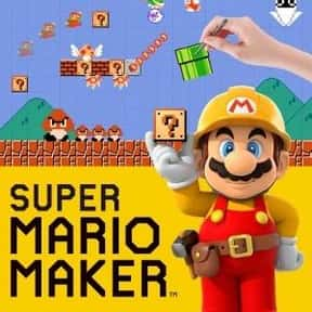 Super Mario Maker is listed (or ranked) 6 on the list The Most Popular Wii U Games Right Now
