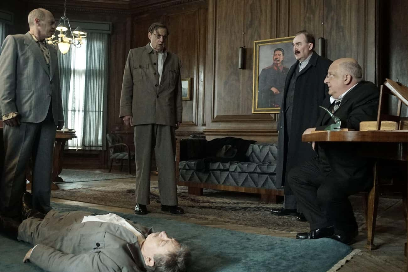 The Death of Stalin is listed (or ranked) 3 on the list 11 Historical Comedies That Got Surprisingly Close To The Truth