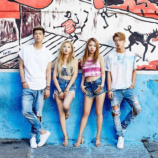 KARD is listed (or ranked) 1 on the list The Best K-pop Coed Groups Of All-Time