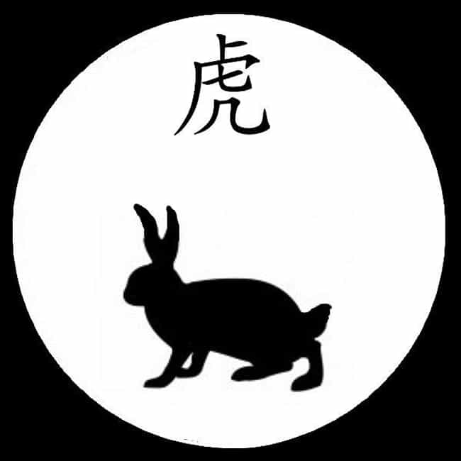 Rabbit (Zodiac) is listed (or ranked) 4 on the list Chinese Zodiac Signs
