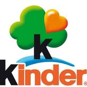 Kinder is listed (or ranked) 11 on the list The Best Chocolate Companies