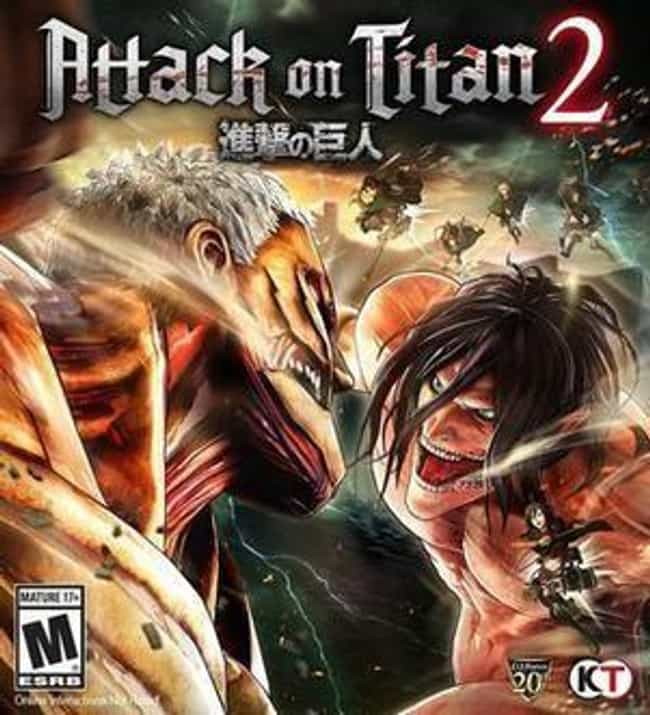 Attack on Titan 2 is listed (or ranked) 4 on the list The 15 Best Anime Games For Nintendo Switch