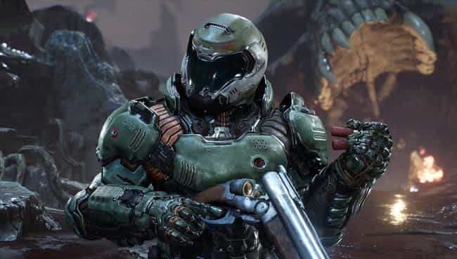 Doom is listed (or ranked) 4 on the list The Most Pointlessly Overpowered Video Game Characters Of All Time