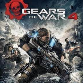 Gears of War 4 is listed (or ranked) 5 on the list The Best Shooting Games on Xbox Games Pass