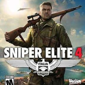 Sniper Elite 4 is listed (or ranked) 6 on the list The Best Shooting Games on Xbox Games Pass