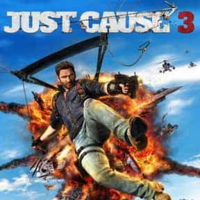 Just Cause 3 is listed (or ranked) 19 on the list The Most Popular Open-World Video Games Right Now