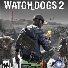 Watch Dogs 2 is listed (or ranked) 18 on the list The Most Popular Open-World Video Games Right Now