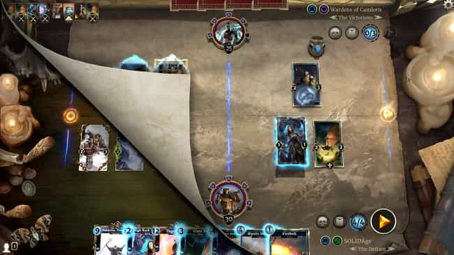 The Elder Scrolls: Legen... is listed (or ranked) 3 on the list The Best Mobile Card Games